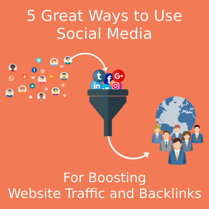 5 Great Ways to Use Social Media for Boosting Website Traffic and Backlinks
